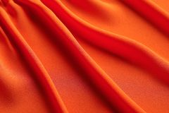Fabric texture with folds. As background Stock Photography
