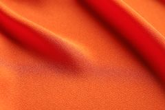 Fabric texture with folds. As background Stock Image