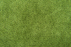 Fabric texture green carpeting. For background Royalty Free Stock Photography