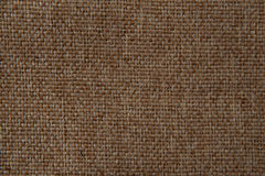 Fabric texture ight brown gobelin Royalty Free Stock Image