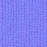 Fabric texture 7 normal seamless map. Stock Photography
