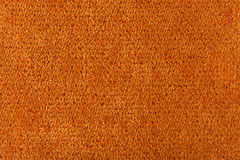 Fabric texture orange carpeting. For background Stock Photo