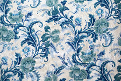Fabric texture with pattern Stock Image