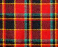 Fabric Texture plaid as a background Stock Photos