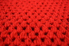 Fabric texture puff crochet stitches Royalty Free Stock Photos
