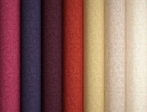 Fabric texture sampler. Royalty Free Stock Photography