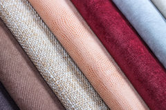 Fabric texture samples. Stock Photography