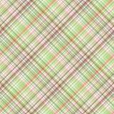 Fabric texture. Seamless tartan pattern. Textured background. Stock Image