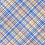 Fabric texture. Seamless tartan pattern. Vector background. Royalty Free Stock Photos