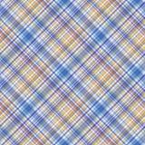 Fabric texture. Seamless tartan pattern. Vector background. Royalty Free Stock Photos