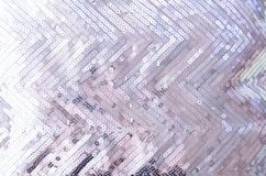 Fabric texture with shimmering silver sequins royalty free stock photos