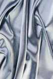 Fabric texture silver. Stock Photo