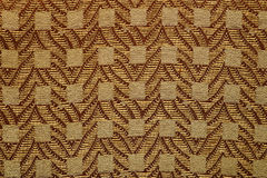 Fabric texture with square Stock Image