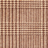 Fabric texture, tartan pattern. For natural backdrop, banner, print, template, web, decoration. Beige and brown. Square. Royalty Free Stock Image