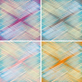 Fabric texture. weave colorful threads Stock Photo