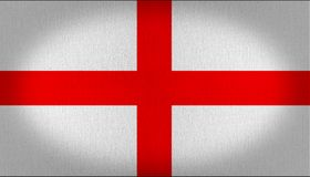 England Flag fabric texture royalty free stock photo