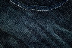Worn jeans. Fabric texture worn jeans, background, fiber Royalty Free Stock Image