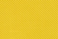 Fabric texture yellow colored Stock Image