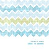 Fabric textured chevron stripes horizontal frame Stock Photo