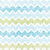 Fabric textured chevron stripes seamless pattern background Stock Photos