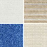 Fabric textures Royalty Free Stock Images