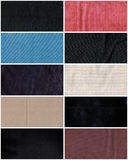 Fabric textures Stock Photography