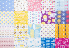 Fabric textures Royalty Free Stock Photos