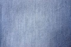 Fabric from cotton, natural, a jeans, close-up Royalty Free Stock Images