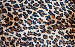 Fabric tiger skin background Stock Images