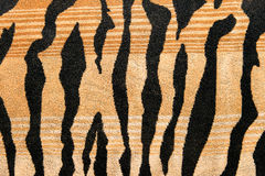 Fabric with tiger stripes pattern background Royalty Free Stock Image