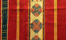 Fabric from timor, indonesia Royalty Free Stock Photos