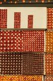 Fabric trim textures Stock Photos