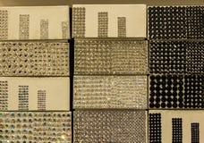 Fabric trim textures Royalty Free Stock Photos