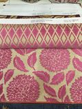 Fabric upholstery design. Jacuard fabric upholstery new design Stock Photography