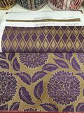 Fabric upholstery design. Jacuard fabric upholstery new design Stock Photo