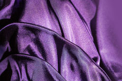 Fabric violet background Stock Images