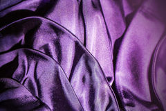 Fabric violet background Stock Photography