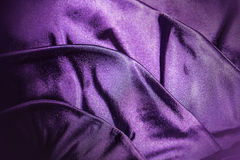 Fabric violet background Royalty Free Stock Photo