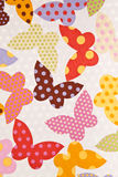 Fabric wallpaper background. Stock Photography