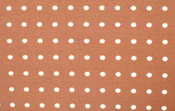 Fabric and White Tiny Dots Background Stock Photo