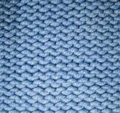 Fabric woolen yarn texture. background, craftsmanship. Blue fabric woolen yarn texture. background, craftsmanship stock images