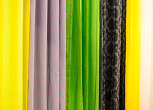Fabric. Woven fabrics are manufactured according to industrial processes Royalty Free Stock Photos