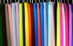 Fabric. Woven fabrics are manufactured according to industrial processes Royalty Free Stock Photo