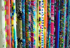 Fabric. Woven fabrics are manufactured according to industrial processes Stock Photography