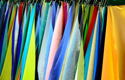 Fabric. Woven fabrics are manufactured according to industrial processes Stock Photo