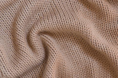 Fabric with yarn. Royalty Free Stock Images