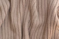 Fabric with yarn. Royalty Free Stock Image