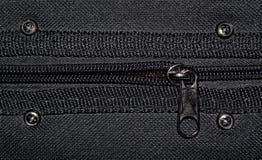 Fabric with zipper Stock Photo