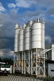 Fabricação, cimento Fotografia de Stock
