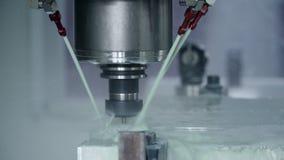 Fabricação da máquina na planta filme